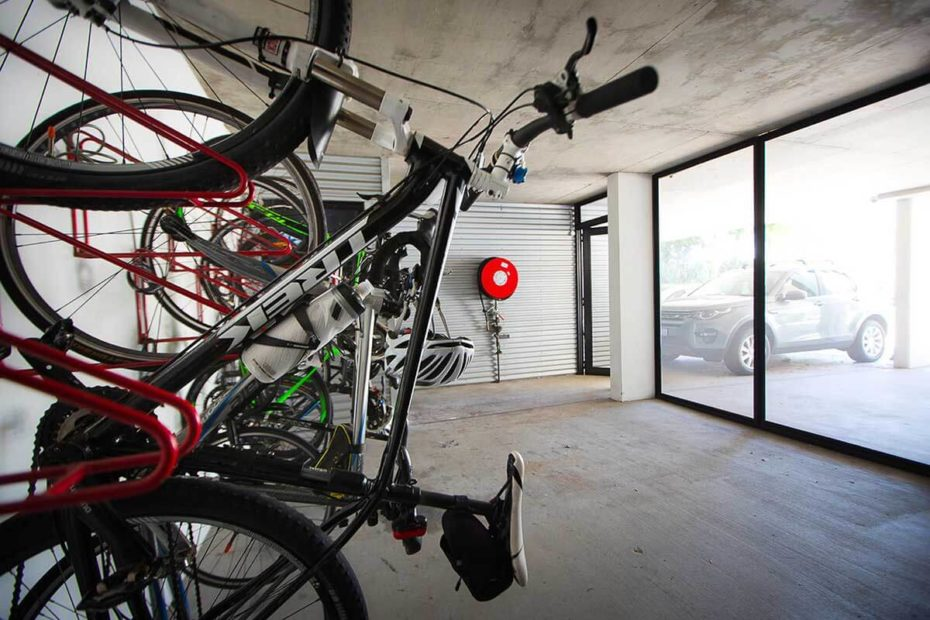 Garage & Storage areas (interior)