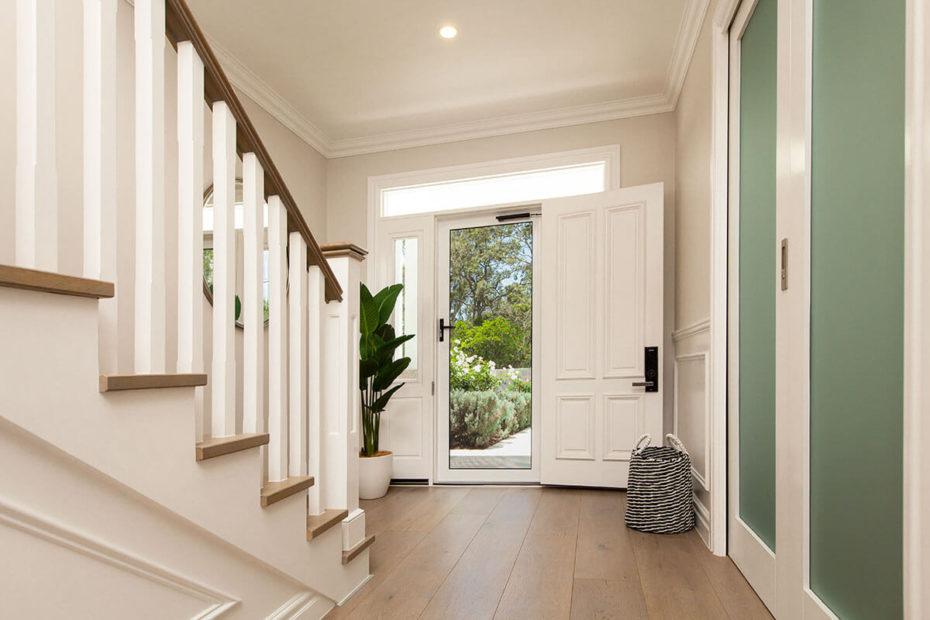 Front Door Interior (Hinged Door)