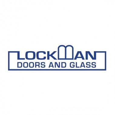 Lockman Doors Glass Logo