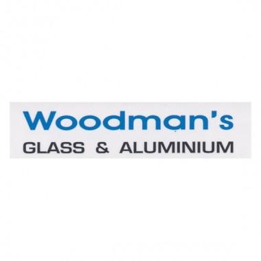 Woodmans Glass and Aluminium Logo