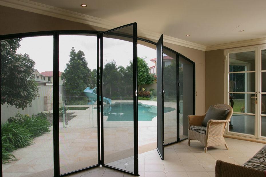 Crimsafe (Ultimate) Bi-Fold Doors