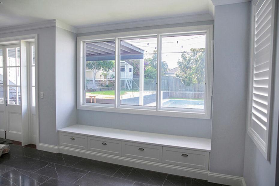 Crimsafe Ultimate Fixed Window Interior