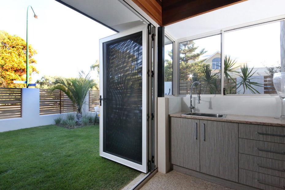 Crimsafe Ultimate Bi-Fold Doors